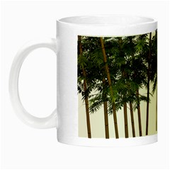 Bamboo Plant Wellness Digital Art Night Luminous Mugs