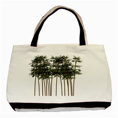 Bamboo Plant Wellness Digital Art Basic Tote Bag (two Sides)