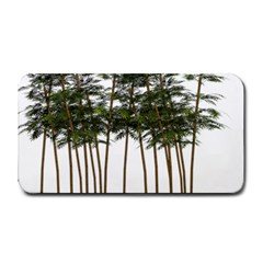 Bamboo Plant Wellness Digital Art Medium Bar Mats