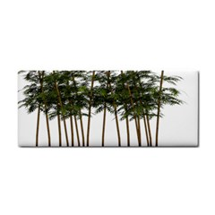 Bamboo Plant Wellness Digital Art Cosmetic Storage Cases