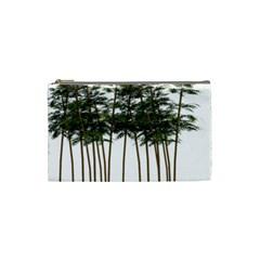 Bamboo Plant Wellness Digital Art Cosmetic Bag (small)