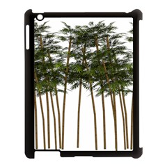 Bamboo Plant Wellness Digital Art Apple Ipad 3/4 Case (black)