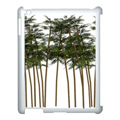 Bamboo Plant Wellness Digital Art Apple Ipad 3/4 Case (white)