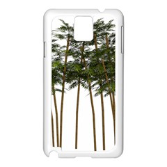 Bamboo Plant Wellness Digital Art Samsung Galaxy Note 3 N9005 Case (white)