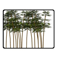 Bamboo Plant Wellness Digital Art Double Sided Fleece Blanket (small)