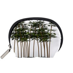 Bamboo Plant Wellness Digital Art Accessory Pouches (small)