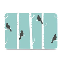 Birds Trees Birch Birch Trees Plate Mats
