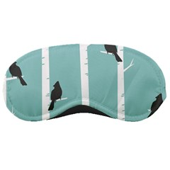 Birds Trees Birch Birch Trees Sleeping Masks