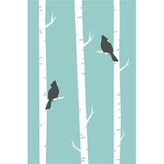 Birds Trees Birch Birch Trees 5 5  X 8 5  Notebooks