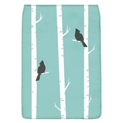 Birds Trees Birch Birch Trees Flap Covers (l)