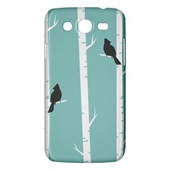 Birds Trees Birch Birch Trees Samsung Galaxy Mega 5 8 I9152 Hardshell Case