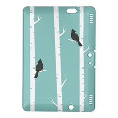 Birds Trees Birch Birch Trees Kindle Fire Hdx 8 9  Hardshell Case