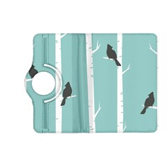 Birds Trees Birch Birch Trees Kindle Fire Hd (2013) Flip 360 Case