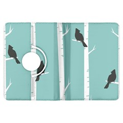 Birds Trees Birch Birch Trees Kindle Fire Hdx Flip 360 Case