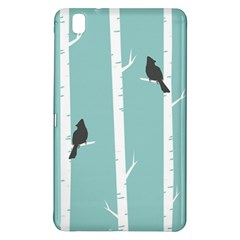 Birds Trees Birch Birch Trees Samsung Galaxy Tab Pro 8 4 Hardshell Case