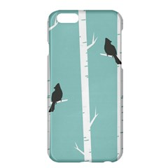 Birds Trees Birch Birch Trees Apple Iphone 6 Plus/6s Plus Hardshell Case