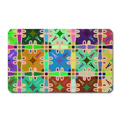 Abstract Pattern Background Design Magnet (rectangular)