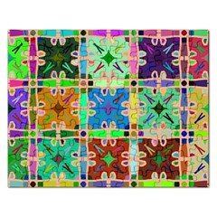 Abstract Pattern Background Design Rectangular Jigsaw Puzzl