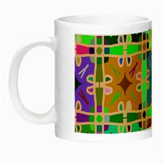 Abstract Pattern Background Design Night Luminous Mugs