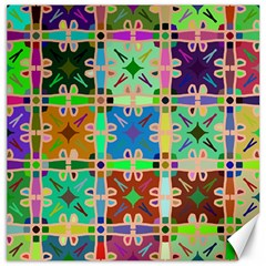 Abstract Pattern Background Design Canvas 16  X 16
