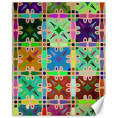 Abstract Pattern Background Design Canvas 16  X 20
