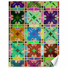 Abstract Pattern Background Design Canvas 18  X 24