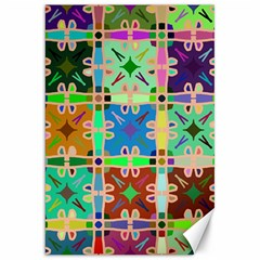 Abstract Pattern Background Design Canvas 20  X 30