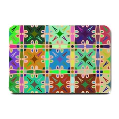 Abstract Pattern Background Design Small Doormat