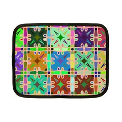 Abstract Pattern Background Design Netbook Case (Small)