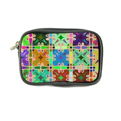 Abstract Pattern Background Design Coin Purse