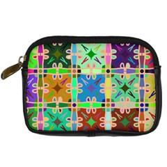 Abstract Pattern Background Design Digital Camera Cases