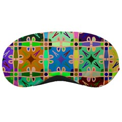 Abstract Pattern Background Design Sleeping Masks