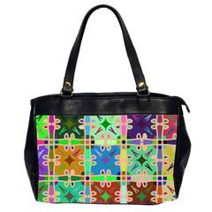 Abstract Pattern Background Design Office Handbags (2 Sides)