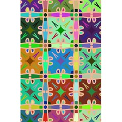 Abstract Pattern Background Design 5 5  X 8 5  Notebooks