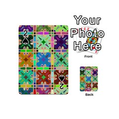Abstract Pattern Background Design Playing Cards 54 (mini)