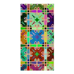 Abstract Pattern Background Design Shower Curtain 36  X 72  (stall)