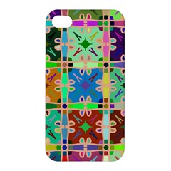 Abstract Pattern Background Design Apple Iphone 4/4s Hardshell Case