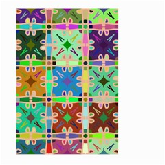 Abstract Pattern Background Design Large Garden Flag (two Sides)