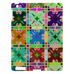 Abstract Pattern Background Design Apple Ipad 3/4 Hardshell Case