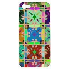 Abstract Pattern Background Design Apple Iphone 5 Hardshell Case