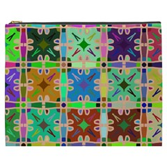 Abstract Pattern Background Design Cosmetic Bag (xxxl)