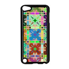Abstract Pattern Background Design Apple Ipod Touch 5 Case (black)