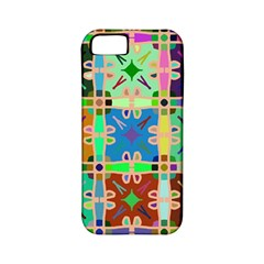 Abstract Pattern Background Design Apple Iphone 5 Classic Hardshell Case (pc+silicone)
