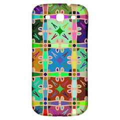 Abstract Pattern Background Design Samsung Galaxy S3 S Iii Classic Hardshell Back Case