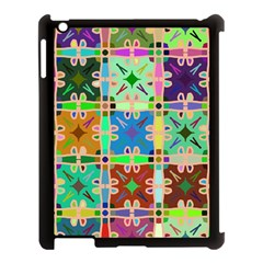 Abstract Pattern Background Design Apple Ipad 3/4 Case (black)