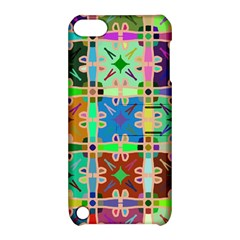 Abstract Pattern Background Design Apple Ipod Touch 5 Hardshell Case With Stand