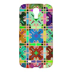 Abstract Pattern Background Design Samsung Galaxy S4 I9500/i9505 Hardshell Case