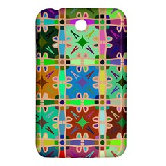 Abstract Pattern Background Design Samsung Galaxy Tab 3 (7 ) P3200 Hardshell Case