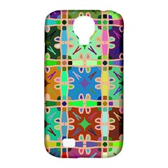 Abstract Pattern Background Design Samsung Galaxy S4 Classic Hardshell Case (pc+silicone)