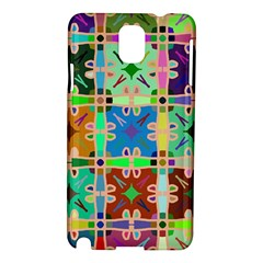 Abstract Pattern Background Design Samsung Galaxy Note 3 N9005 Hardshell Case
